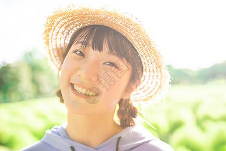 日系少女人像图片