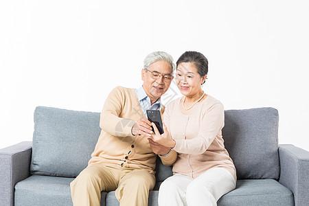 老年夫妻视频通话图片