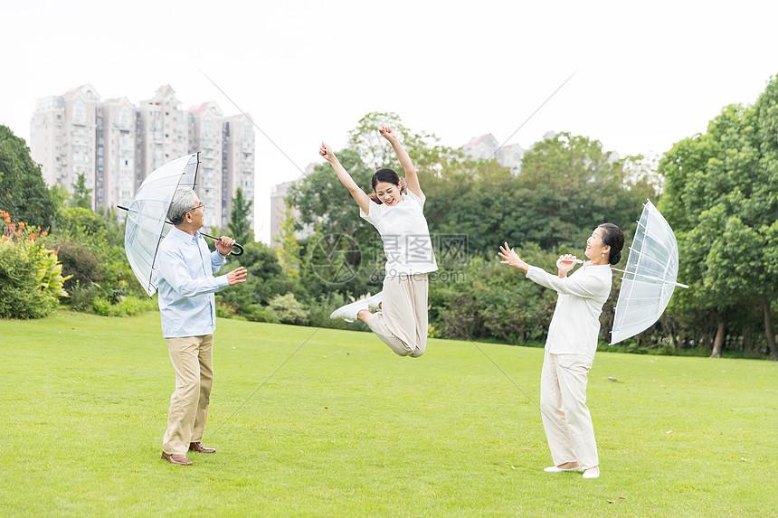 幸福的一家人图片