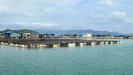 霞浦滩涂大海图片