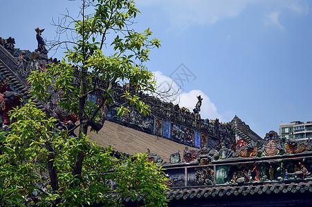 陈氏书院风景区图片