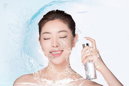 美容保湿补水图片