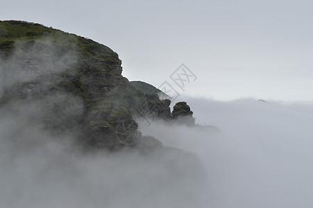 贵州铜仁梵净山风景区云雾图片