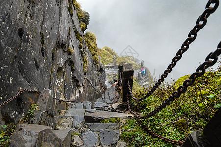贵州铜仁梵净山风景区索道图片