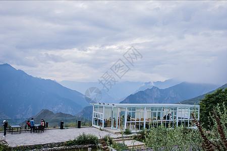 浮云牧场观景台图片