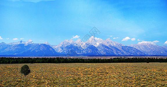 美国大提顿国家公园风光图片