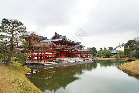 日本地标宇治平等院图片
