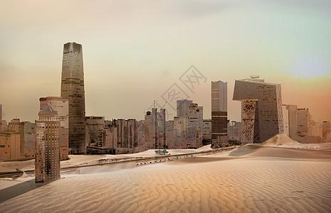 沙漠北京图片