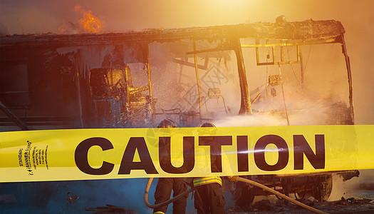 黄色警戒线图片