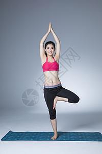瑜伽健身女性图片