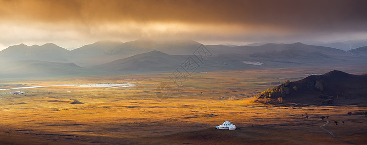 内蒙古草原之秋图片