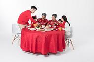 春节年夜饭团圆聚餐501055167图片