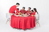 春节年夜饭团圆聚餐501055168图片