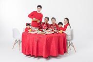 春节年夜饭团圆聚餐501055169图片