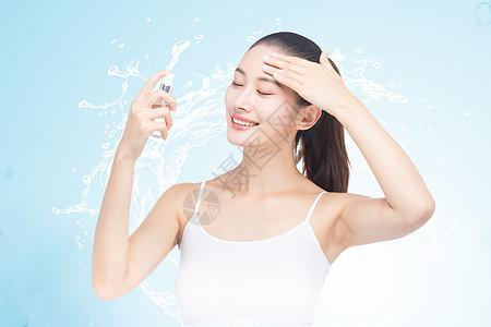 美容补水保湿护肤图片