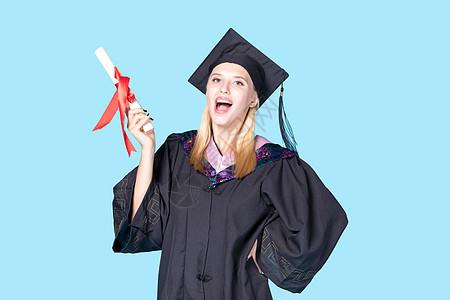 外国毕业生开心图片