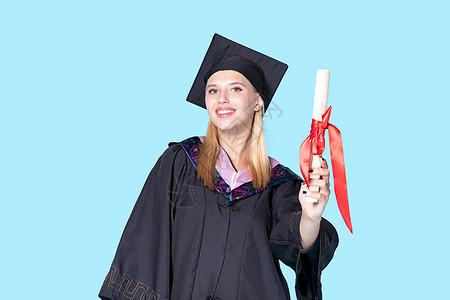 外国毕业生形象图片