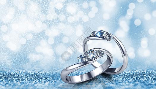 婚礼戒指图片