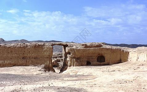 新疆交河故城历史的见证图片
