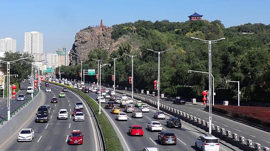 新疆乌鲁木齐街景图片