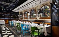 复古餐厅效果图图片