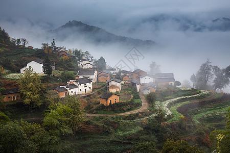 安徽画意古村落图片
