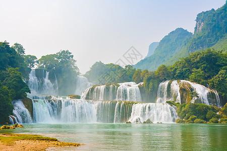 广西壮族自治区德天瀑布景区图片