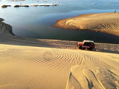 额济纳风光巴丹吉林沙漠边沿图片