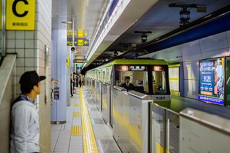 日本地铁站图片