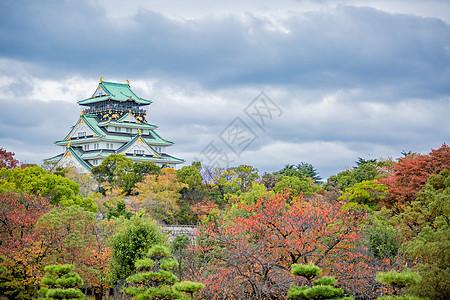 日本天守阁图片