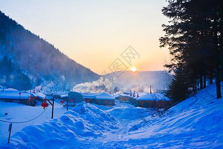 黑龙江雪乡风光图片