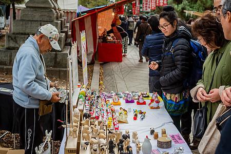 日本摊位图片