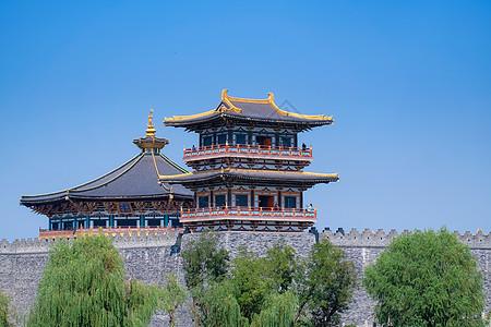 湖北襄阳唐城古城墙图片