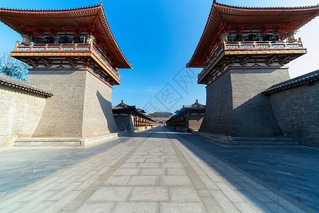 湖北襄阳唐城入口图片