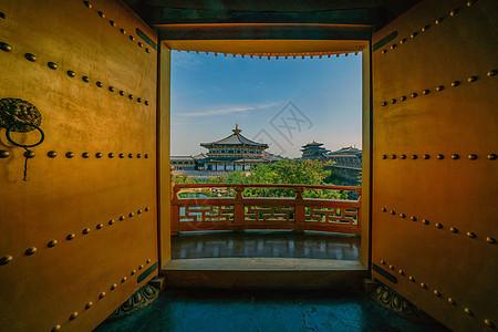 湖北襄阳唐城皇宫图片