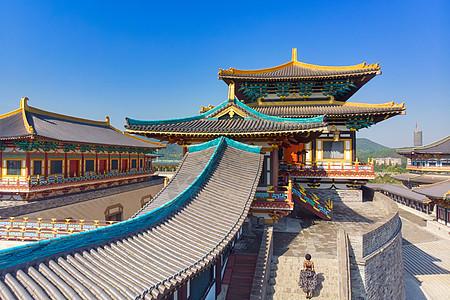 湖北襄阳旅游景点唐城城墙上图片