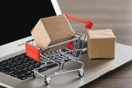 网购物流图片