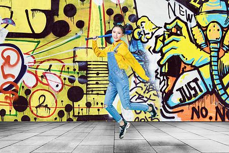 街舞美女图片