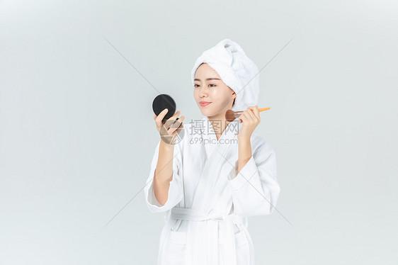 美女化妆美容图片