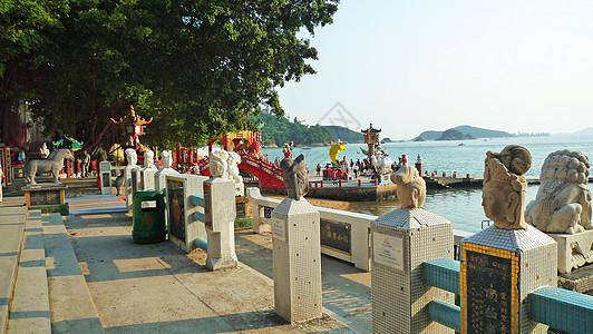 香港浅水湾天后古庙湾图片
