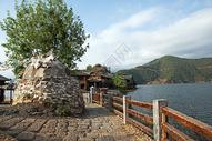 云南泸沽湖里格半岛图片