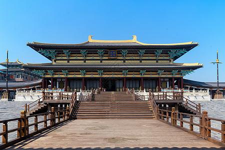 湖北襄阳唐城宫殿图片