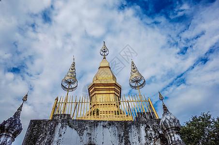 琅勃拉邦普西山图片