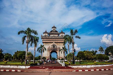 老挝万象凯旋门图片