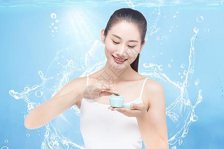 美容补水保湿图片