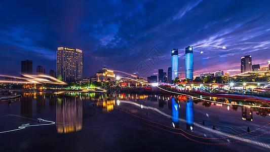 南昌秋水广场音乐喷泉图片