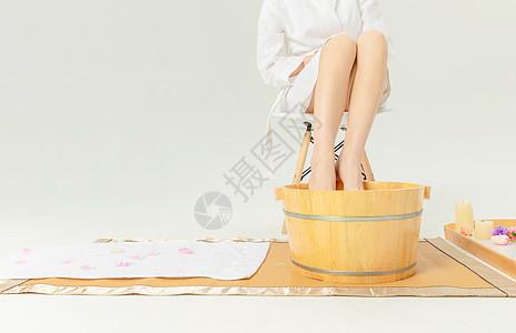 女性足浴图片