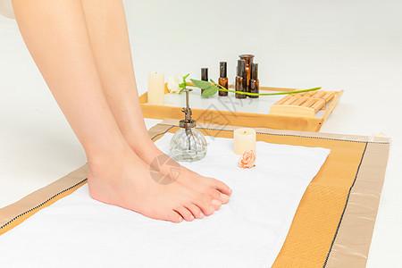 女性足部护理图片