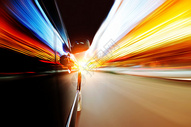 汽车速度感光束 图片