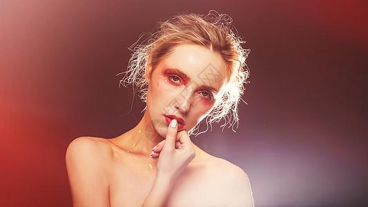美妆色彩创意图片